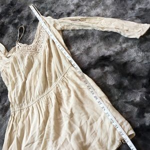 Urban Outfitters Pants - Ecote Delilah Cold Shoulder Breezy Lace Romper